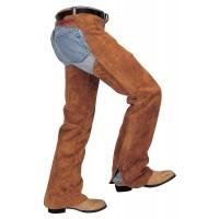 Shotgun Split Leather Work Chaps