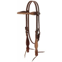Rough Out Oiled Headstall