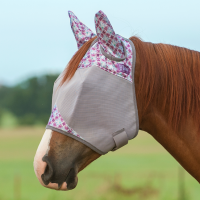 Crusader Fly Mask w. Ears Plum Flash