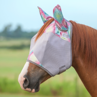 Crusader Fly Mask w. Ears Multi Henna