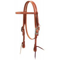 Pony HL Headstall with Floral HW
