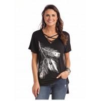Silber Feder Shirt