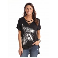 Silver Feather Shirt