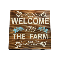 Welcome to the Farm Schild