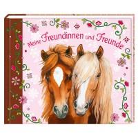 Freundebuch Pferdemotiv