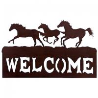 """Pferde """"Welcome"""" Schild"""