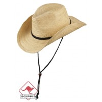 Scippis Straw Hat Cattleman Nature