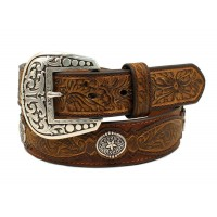 Ariat Western Belt Star Conchos