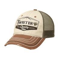 Twister Cap Brown-Green