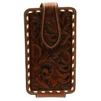 Ariat Floral Tooled Phone Case BR