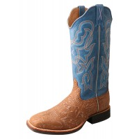 Ruff Stock Boot WRS0030 Tan / Sky Blue