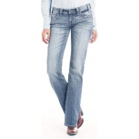 Ridign Jeans Scattered Embroidery