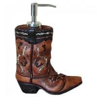 Cowboy Boot Seifenspender