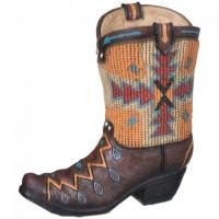 Aztec Cowboy Boot Sparkasse
