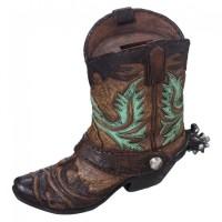 Cowboy Boot Sparkasse