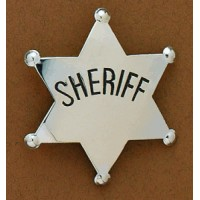 Western Badge - Sheriff