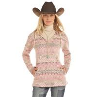 Jacquard Aztec Knit Pullover 2734