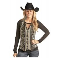 Wool Jacquard Vest