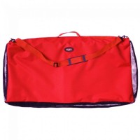 Saddle Blanket Protector/Carrier red