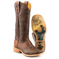 Cactus Tooled Boot
