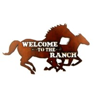 Welcome to the Ranch Horse