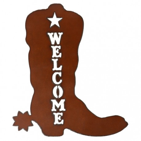 Boot Welcome Sign