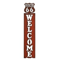 Route 66 Welcome Sign