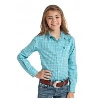 Turquoise Long Sleeve Shirt 4010