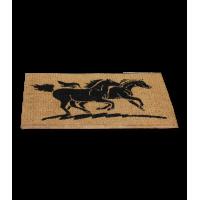 Coir Door Mat Horses