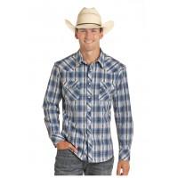 Western Shirt Dobby Plaid