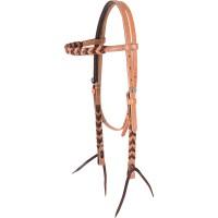 Martin Saddlery Blood Knot Browband Headstall HBBKL