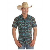 Rock'n'Roll Cowboy Short Sleeve Shirt 5090