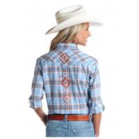 Rough Stock Western Shirt Hanover Ombre R4S5731