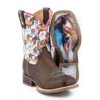 Chestnut & Daisy Boots