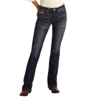 Rock&Roll Cowgirl Mid Rise Boot Cut 6133