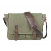 Japoon Messenger Bag olive