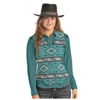Aztec Jacquard Vest