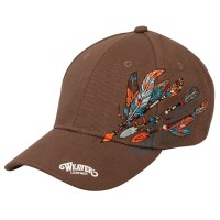 Feathered Flair Cap