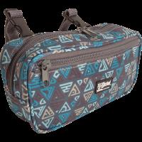 Small Pommel Bag teal tribal