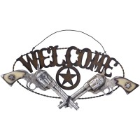 Welcome Pistols Schild
