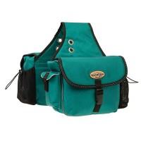Polyester Saddle Bag teal