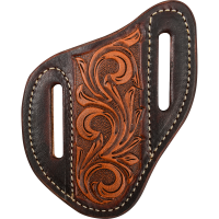 Angled Knife Scabbard Floral