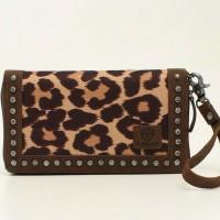 Ariat Leopard Clutch