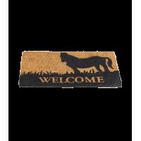 Coir Door Mat Welcome
