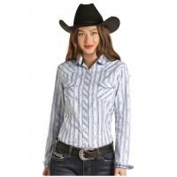 Western Shirt Powder Blue