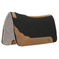 "Weaver Leather 1"" Contoured Two-Tone Felt Saddle Pad"