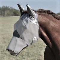 Fliegenmaske mit Ohren und Nase