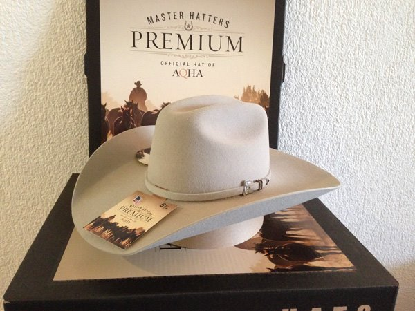 AQHA PREMIUM Hut Master Hatters of Texas